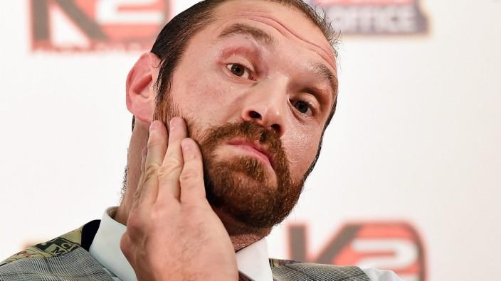 British boxer Tyson Fury retires