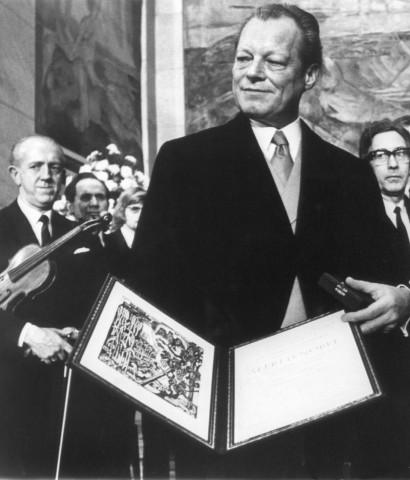 Friedensnobelpreis - Willy Brandt