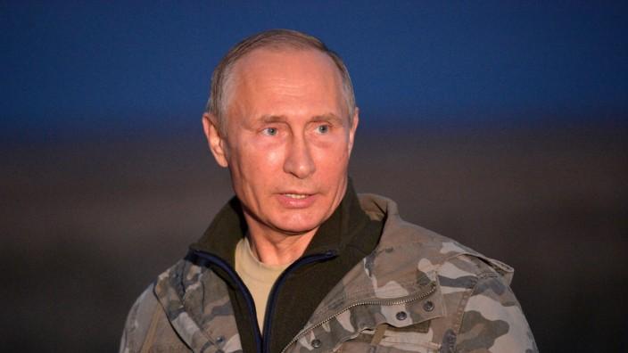 Russian President Vladimir Putin visits Orenburg region