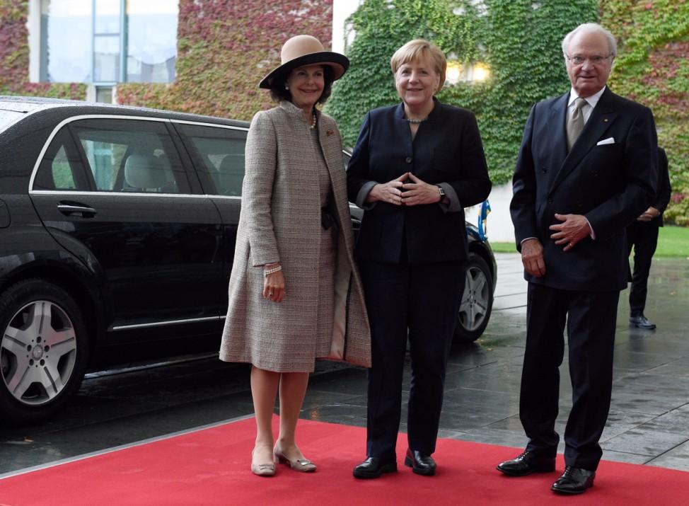 Schwedisches Königspaar in Deutschland - Berlin