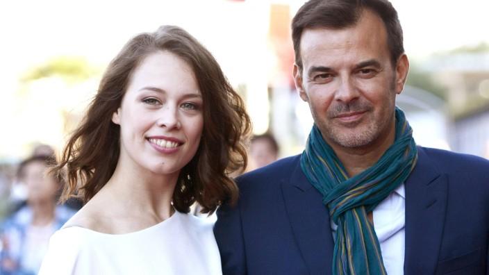 Paula Beer und Francois Ozon bei der Premiere von Frantz auf dem 64 Internationalen Filmfestival Sa