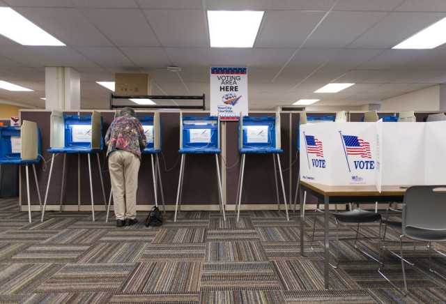 Early Voting At Polling Locations Start In Minnesota Ahead Of November's General Election