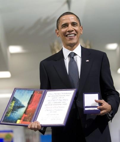 Friedensnobelpreis - Barack Obama
