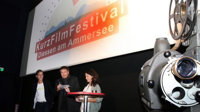 Auftakt zum Kurzfilmfestival; Kurzfilmfestival in Dießen