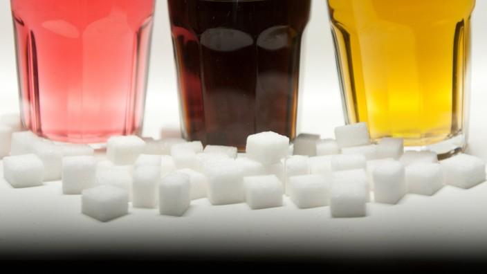 Zuckerhaltige Erfrischungsgetränke