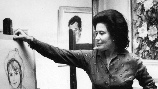 Malerin Magda Bittner Simmet (1916 - 2008)