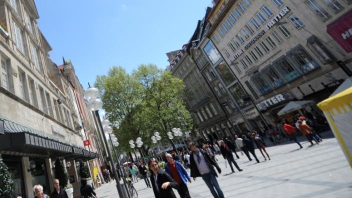 Shopping-Tourismus in München: Kaufhaus Oberpollinger