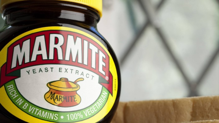 Unilever plc Illustrative image of Marmite a Unilever food product PUBLICATIONxINxGERxSUIxAUTxHUNx