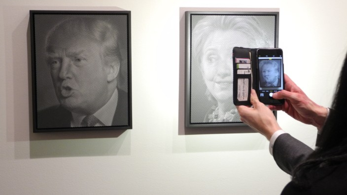 """Kunstausstellung ´Why I Want to Fuck Donald Trump"""""""