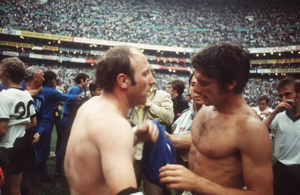 WM 1970 Deutschland - Italien