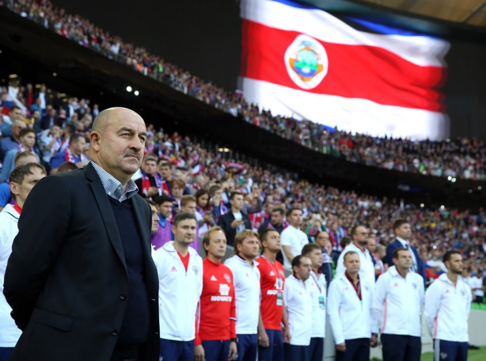 Fußball Länderspiel Russland Costa Rica KRASNODAR RUSSIA OCTOBER 9 2016 Stanislav Chercheso