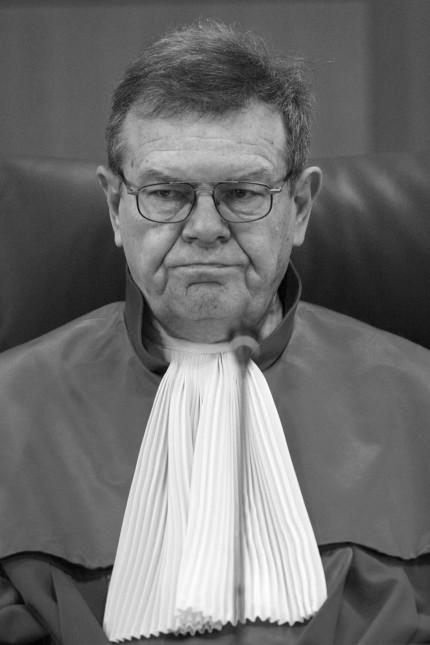 BVG verkündet Urteil über das Luftsicherheitsgesetz; Dieter Hörnig
