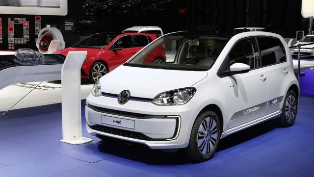 VW E-Up auf dem Genfer Automobilsalon 2016