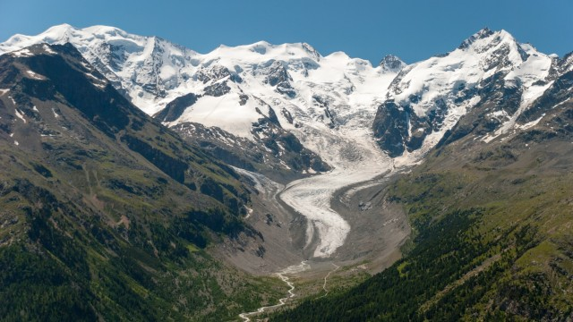 Morteratsch-Gletscher