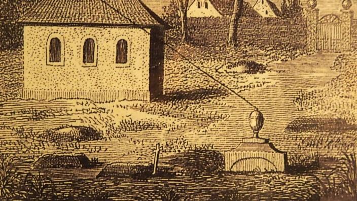 Wissenschaftsgeschichte: Ein Draht, der vom Grab zu einer Glocke führte sollte es lebendig Begrabenen ermöglichen, sich bemerkbar zu machen.