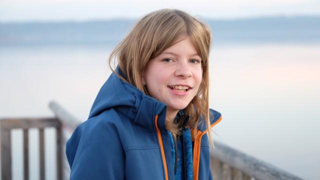 Montessori-Schülerin Anna Münkel