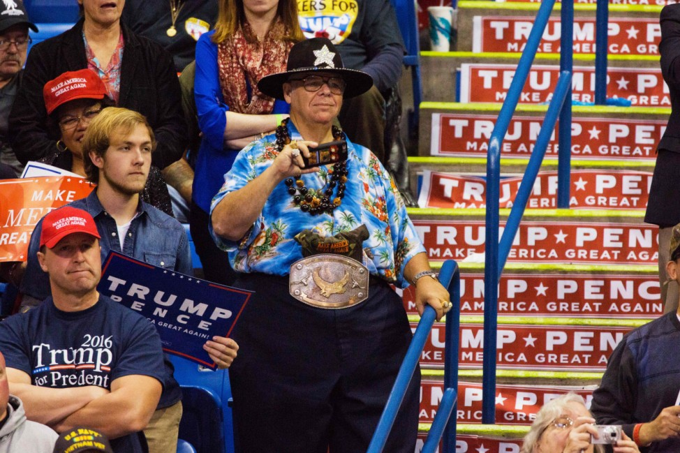 Donald Trump Holds Rally