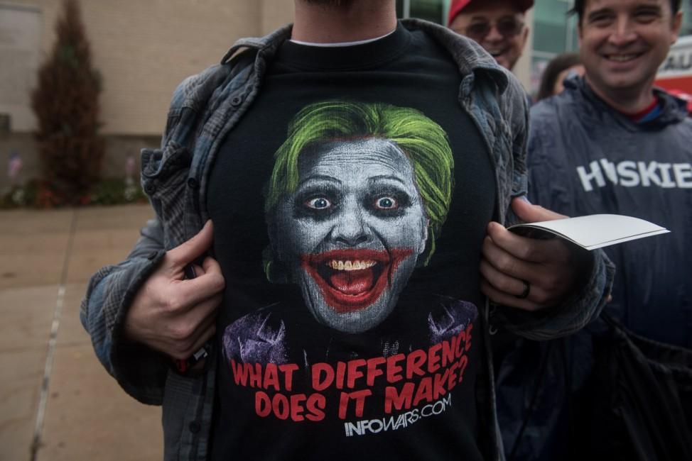 Republican Presidential Nominee Donald Trump Campaigns In Johnstown, Pennsylvania