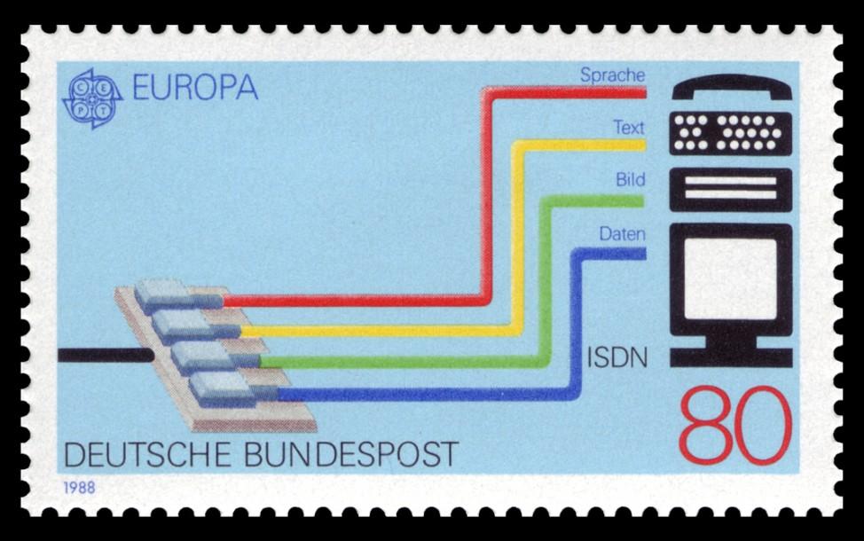 ISDN Briefmarke