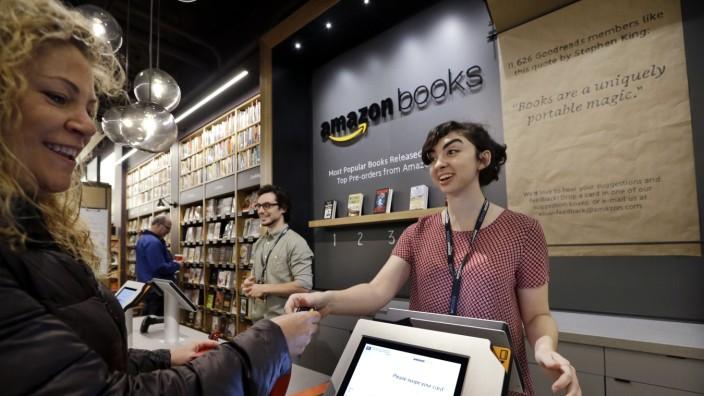 Amazon: Amazons Buchladen in Seattle: Hauptsache, lächeln!