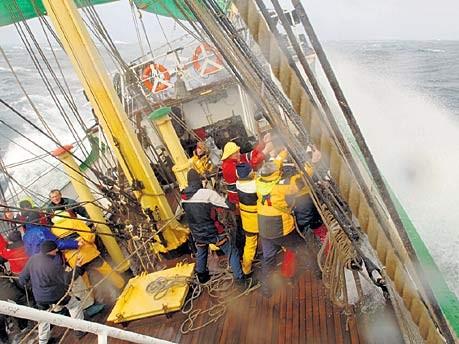 Segelschiff Alexander von Humboldt