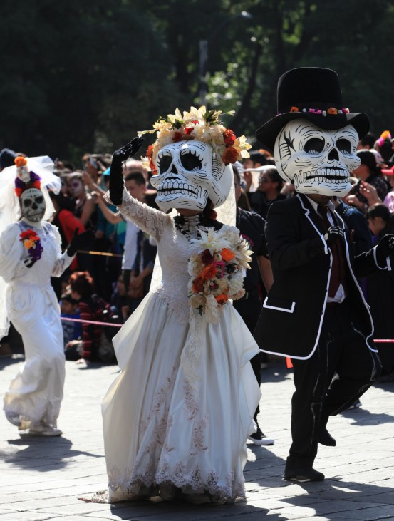 Day of the Dead parade in Mexico