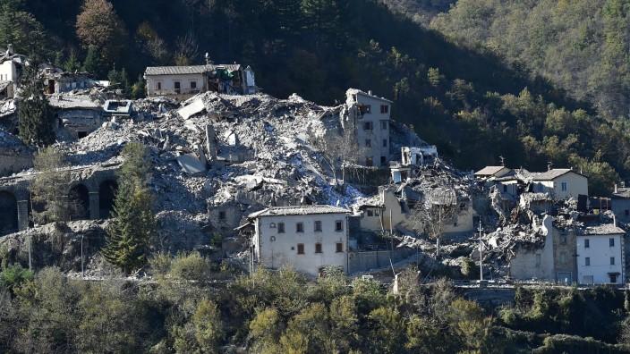 6.6 Magnitude Earthquake Strikes Central Italy