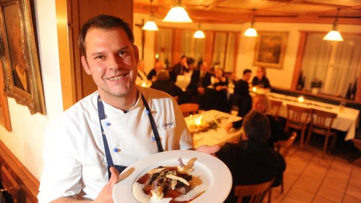 Restaurant Johannas: Andreas Neumayr pflegt eine kreative regionale Küche.