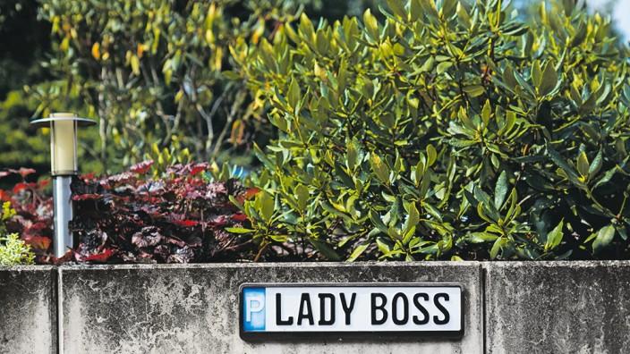 Familienunternehmen: In diesem Unternehmen ist die Frau der Boss.