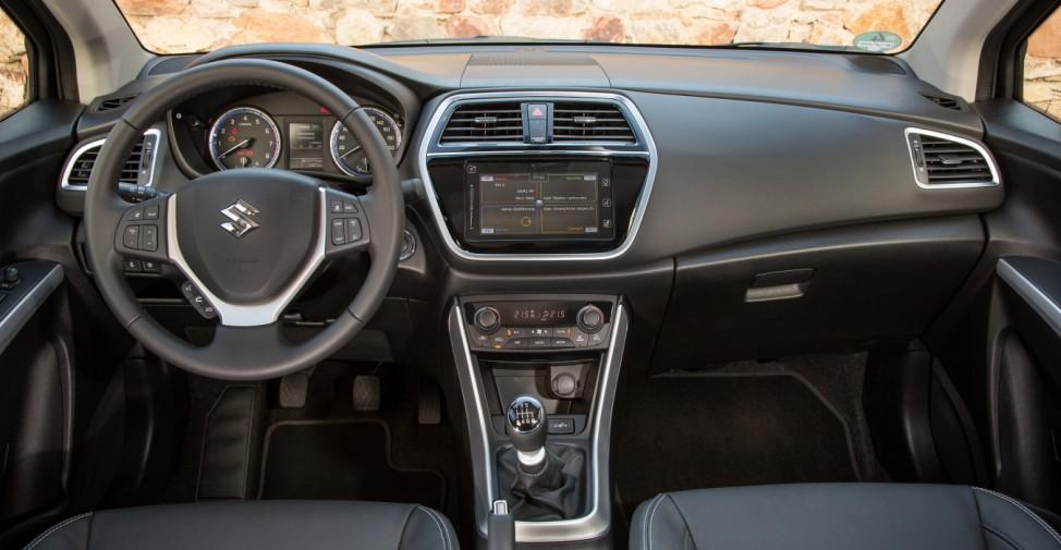 Das Cockpit des neuen Suzuki SX4 S-Cross.