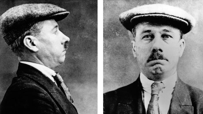 Schriftsteller B. Traven: Ret Marut alias Otto Feige alias B. Traven, als er in London 1923 erkennungsdienstlich behandelt wurde.
