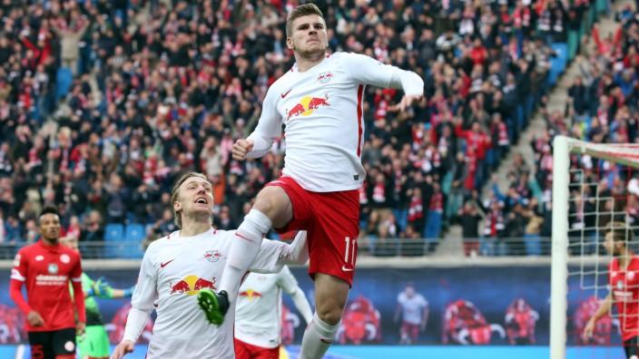 RB Leipzig Mainz Fußball Bundesliga Leipzig 06 11 2016 Red Bull Arena Fußball GER 1 BL 10