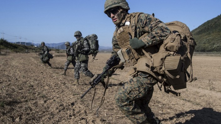 South Korea-US joint military drill