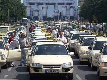 Taxisfahrer