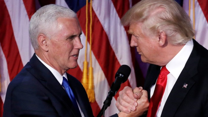 Mike Pence und Donald Trump