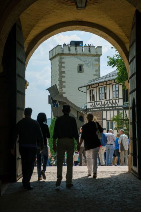 Wartburg in Eisenach; Wartburg Besucher