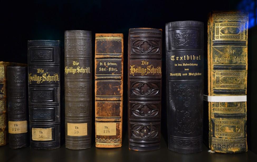 Ausstellung 'Luther und die deutsche Sprache'; Luther Bibel Wartburg