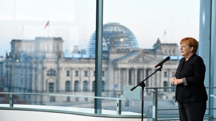 PK Merkel zum Thema Bundespräsidentenwahl