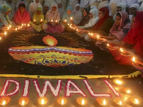 Diwali - Lichterfest in Indien, Reuters