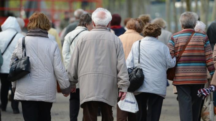 Seniorengruppe in Mainz