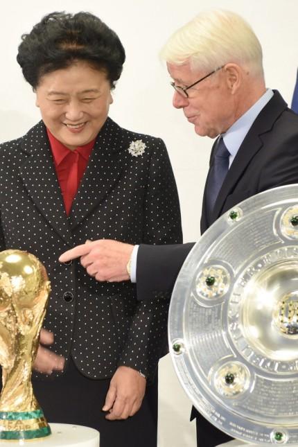 Deutsch-chinesische Fußballkooperation