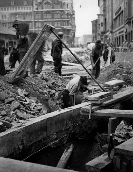 Wiederaufbau in München, 1945-1949