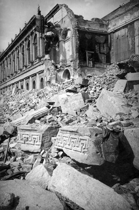 Residenz in München, 1945