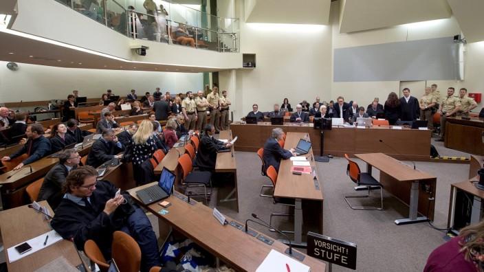 NSU Prozess in München.