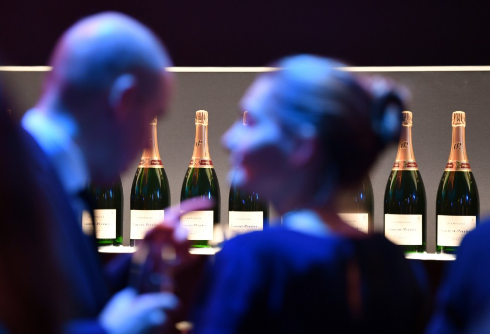Luxus - Party mit Champagner