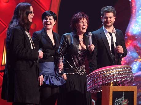 Ozzy, Kelly, Sharon and Jack Osbourne, Getty Images