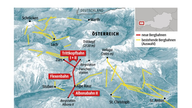 Wintersport in den Alpen: Alte und neue Verbindungen