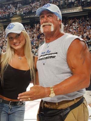 Brooke Hogan, Hulk Hogan, AFP