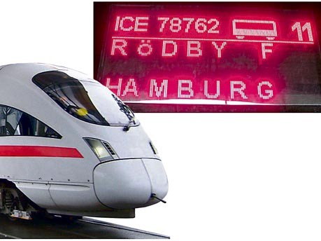ICE, Berlin, Kopenhagen