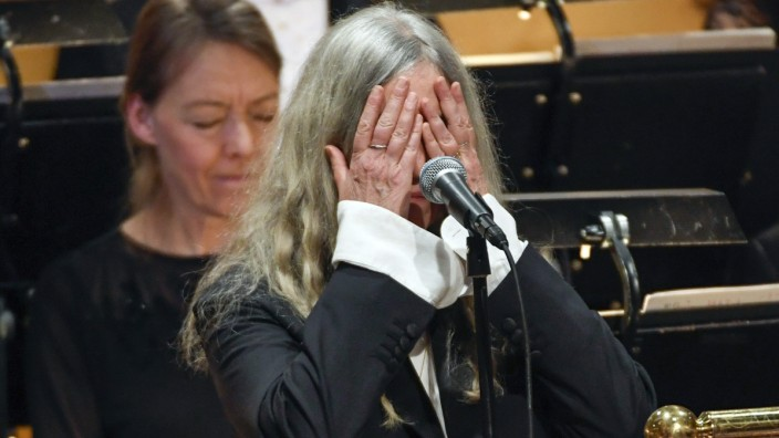 Patti Smith in Stockholm.